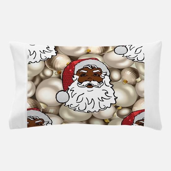 african santa claus Pillow Case