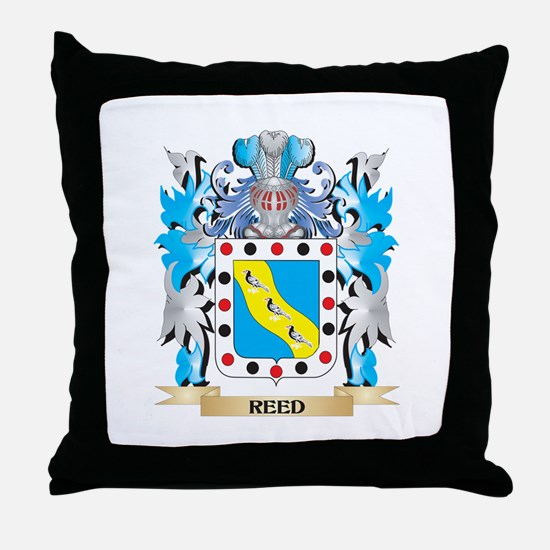 Reed Coat of Arms - Family Crest Throw Pillow