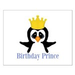 Birthday Prince Penguin Posters