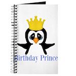 Birthday Prince Penguin Journal
