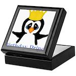 Birthday Prince Penguin Keepsake Box