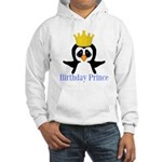 Birthday Prince Penguin Hoodie