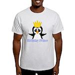 Birthday Prince Penguin T-Shirt