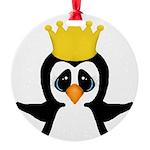 Penguin King Ornament