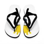 Penguin King Flip Flops