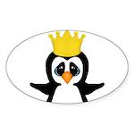 Penguin King Sticker
