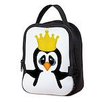 Penguin King Neoprene Lunch Bag