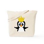 Penguin King Tote Bag