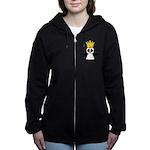 Penguin King Women's Zip Hoodie