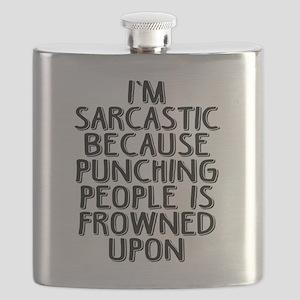 Sarcasm vs Punching Flask