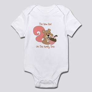 The New Nut On Family Tree - Girl Body Suit