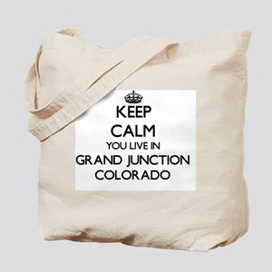 Keep calm you live in Grand Junction Colo Tote Bag