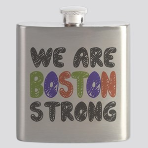 We Are Boston Strong Flask