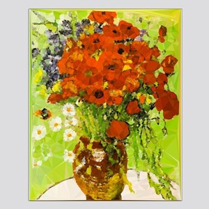Van Gogh Red Poppies Daisies Posters