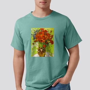 Van Gogh Red Poppies Daisies T-Shirt