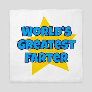 Worlds Greatest Farter Queen Duvet