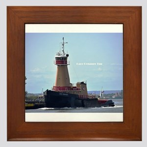 Tugboat Framed Tile