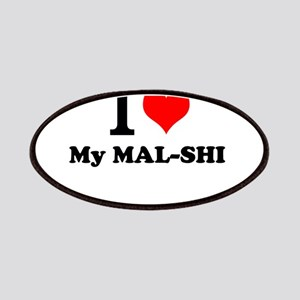 I Love My MAL-SHI Patch