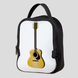 Acoustic Guitar Neoprene Lunch Bag