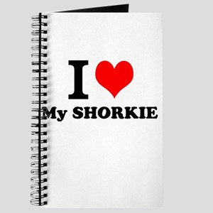 I Love My SHORKIE Journal