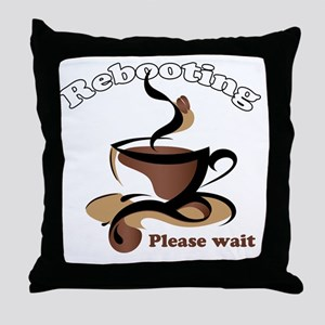 Rebooting Throw Pillow