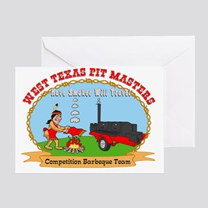 West Texas Pit Masters Greeting Card