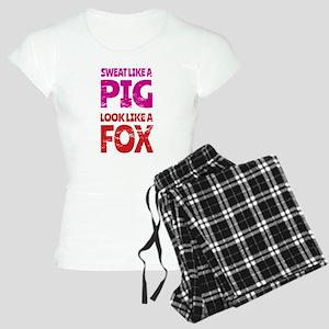 Sweat Like a Pig - Look Lik Women's Light Pajamas