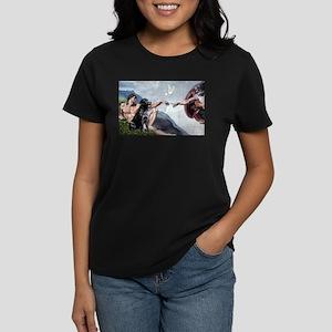 Creation/Black Lab Women's Dark T-Shirt
