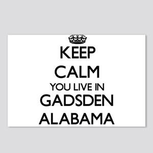 Keep calm you live in Gad Postcards (Package of 8)