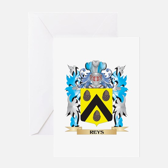 Reys- Coat of Arms - Family Crest Greeting Cards
