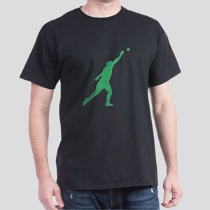 Green Shot Put Silhouette T-Shirt
