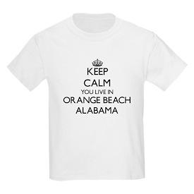 Keep calm you live in Orange Beach Alabama T-Shirt
