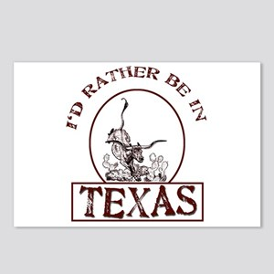 Rather be in Texas Postcards (Package of 8)