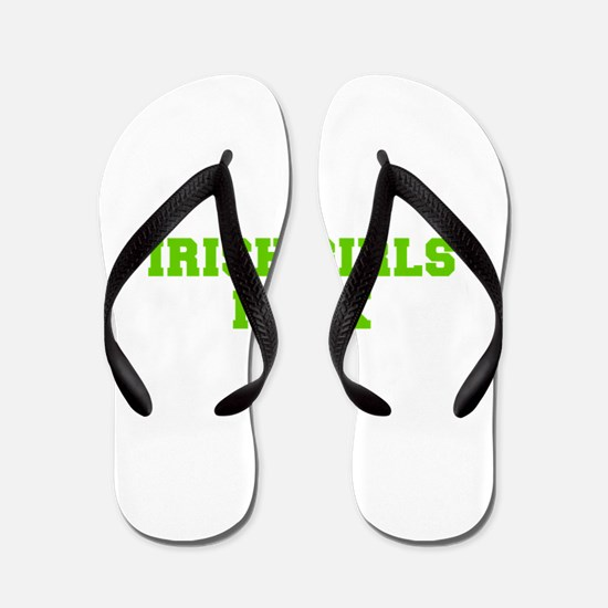 Irish Girls Rock-Fre l green 400 Flip Flops