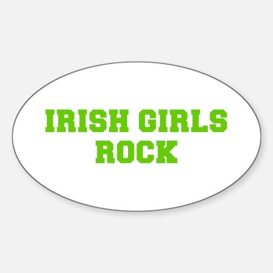 Irish Girls Rock-Fre l green 400 Decal