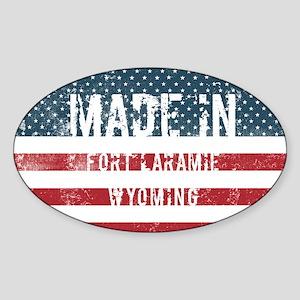 Made in Fort Laramie, Wyoming Sticker