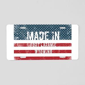 Made in Fort Laramie, Wyomi Aluminum License Plate