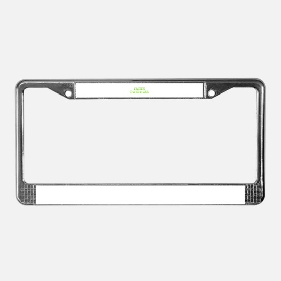 Irish Princess-Max l green 400 License Plate Frame