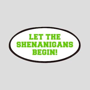 Let the Shenanigans begin-Fre l green Patch
