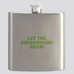 Let the Shenanigans begin-Fre l green Flask