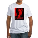 Clinton = Fascist Fitted T-Shirt
