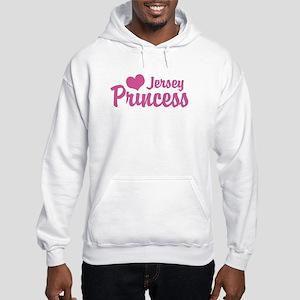 Jersey Princess Hooded Sweatshirt