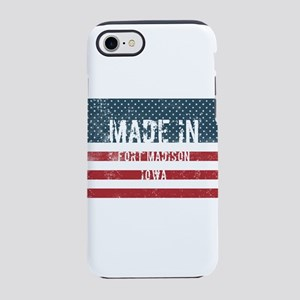 Made in Fort Madison, Iowa iPhone 7 Tough Case