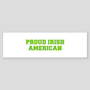Proud Irish American-Fre l green Bumper Sticker