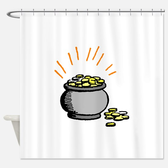 Pot Of Gold Shower Curtain