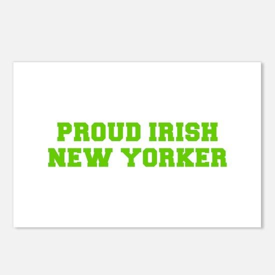 Proud Irish New Yorker-Fre l green 400 Postcards (