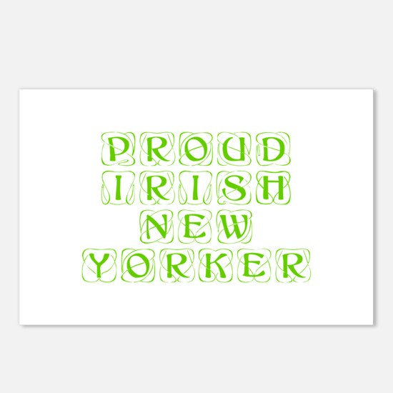 Proud Irish New Yorker-Kon l green 450 Postcards (