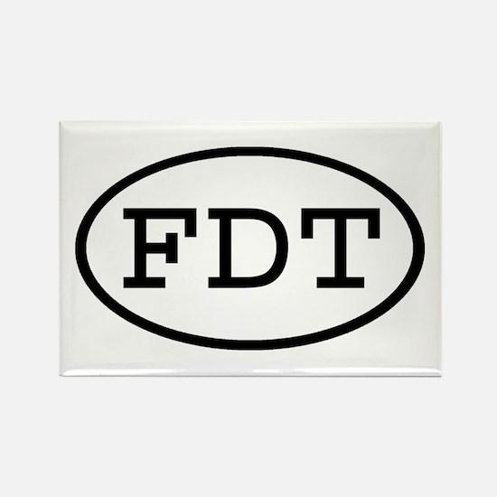 FDT Oval Rectangle Magnet