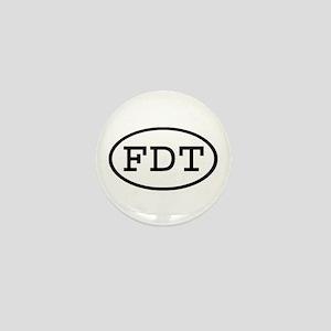 FDT Oval Mini Button