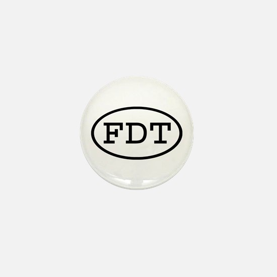 FDT Oval Mini Button